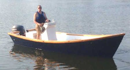 Easy To Build Carolina Dory Wooden Boat Plans | boat building | Pinterest | Boat building ...