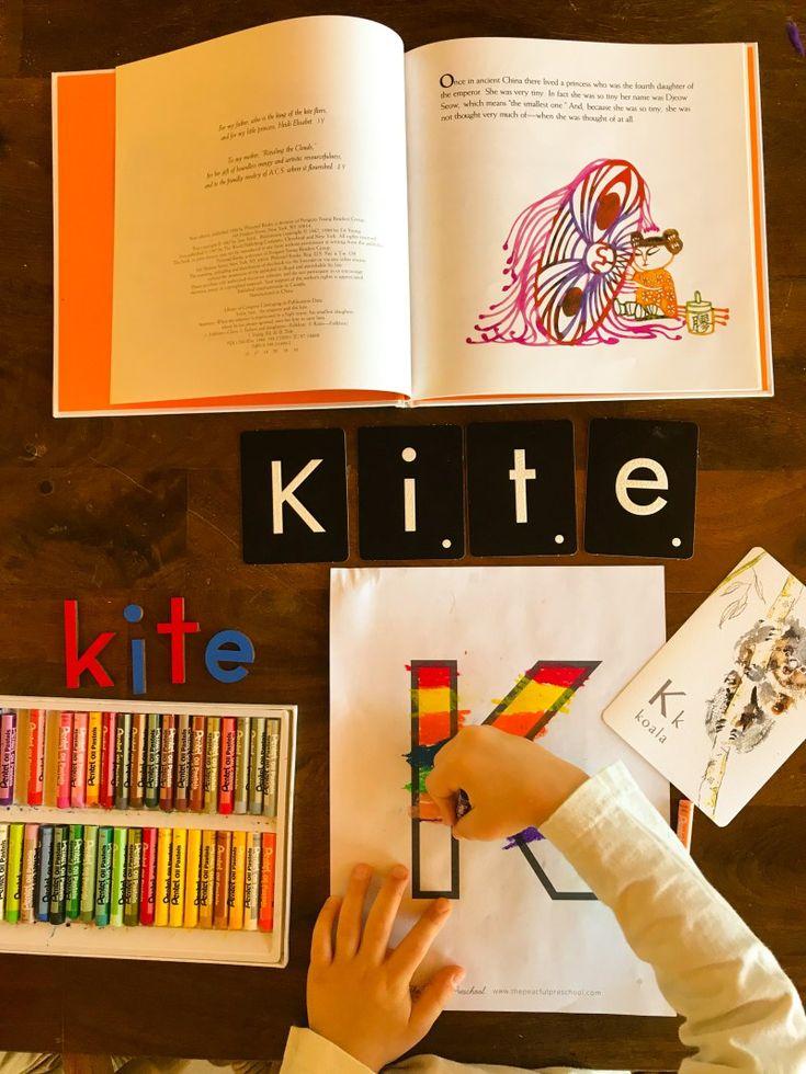 The Emperor's Kite-Letter K - nourishedchildren.com