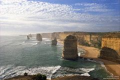 great ocean road, australia by davidjcubberly