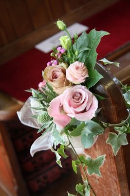 """Flower Design Events: Adele & Phil Eccles """"Pink & Pewter"""" Wedding at The…"""