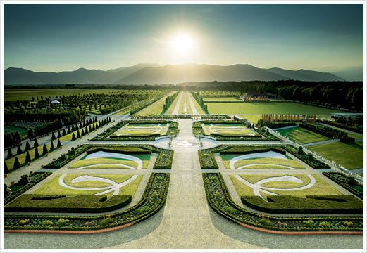 Royal Palace of Venaria (Turin, Italy) ~ Formal Gardens