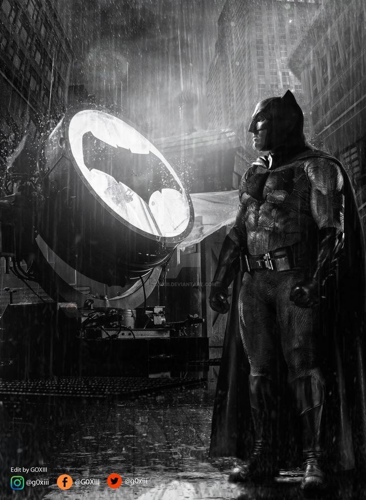 Batman Poster #justiceleague #batman #batmanvsuperman #benaffleck #dccomics #GOXIII