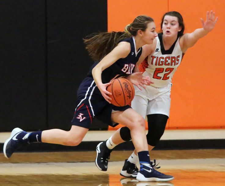 Strasburg's Julie Schupbach buried a 3-pointer with 2.7 seconds left in the game to spark the Tigers to a 31-30 victory over Indian Valley in girls high