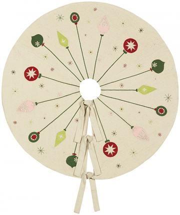 Home Decorators Ornament Tree Skirt, Cream