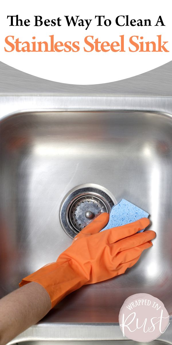 The Best Way To Clean A Stainless Steel Sink With Images
