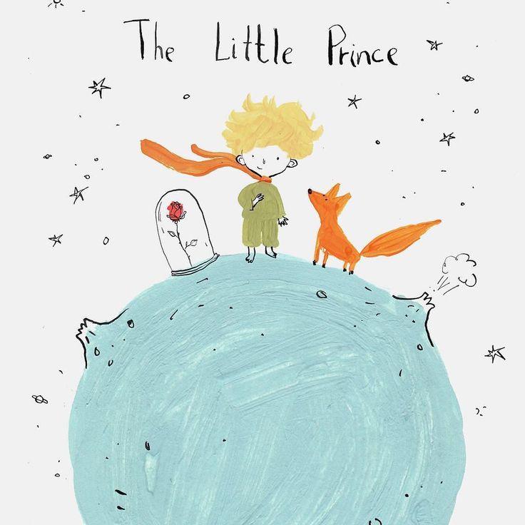 Маленький принц картинки для срисовки с цитатами