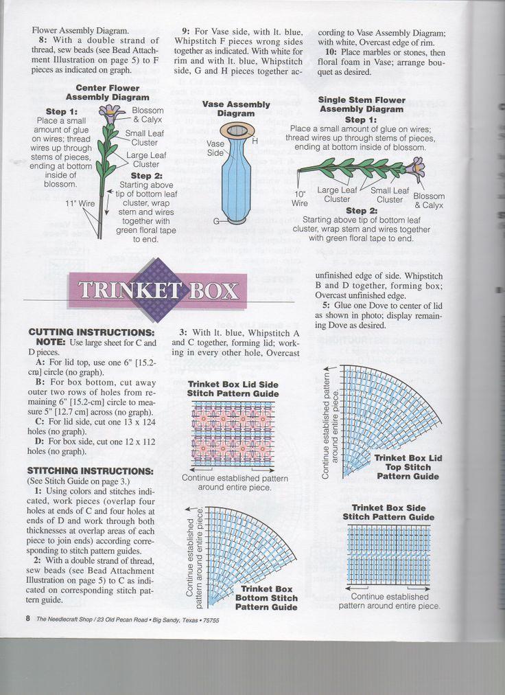 48 best PC-Vase images on Pinterest | Plastic canvas patterns ...