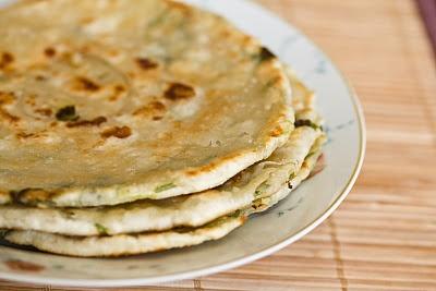 Green onion/scallion pancakes | FOOD: Stuff | Pinterest