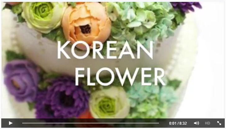 Nice tutorial video of several buttercream flowers