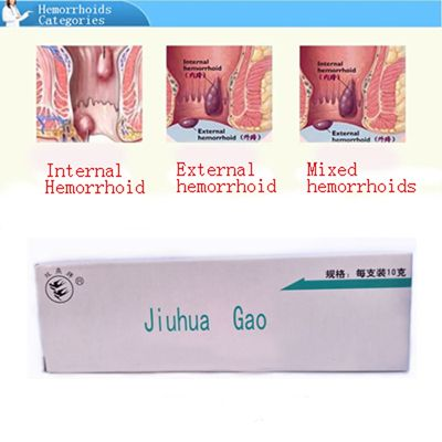 Precio de fábrica Caliente Venta Potente A Base de Hierbas Medicamentos Sangrado Intestinal Fisura Anal Ano Prolapso Hemorroides Pomada Crema 2 Sets