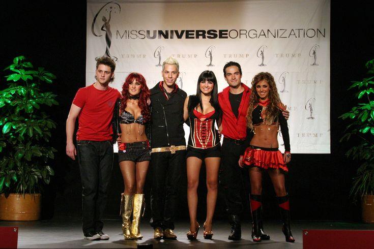 RBD no Miss Universo 2007 (28.05.07) - HQ! - RBD Fotos Rebelde | Maite Perroni, Alfonso Herrera, Christian Chávez, Anahí, Christopher Uckermann e Dulce Maria