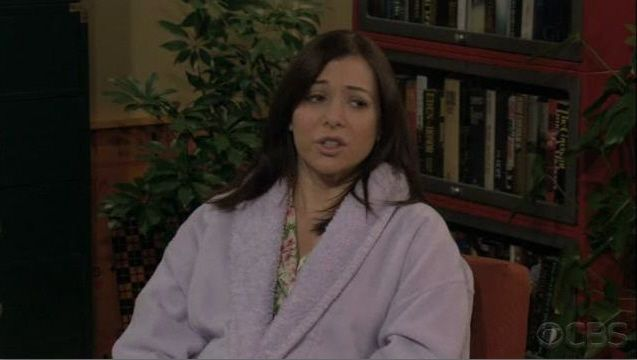 """""""How I met your Mother"""". Lilac Sherpa Bathrobe by Aegean Apparel"""