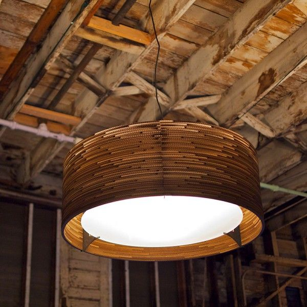 DRUM PENDANT 92CM - Hanglampen - Binnenverlichting 1046 EUR... (1m diameter)