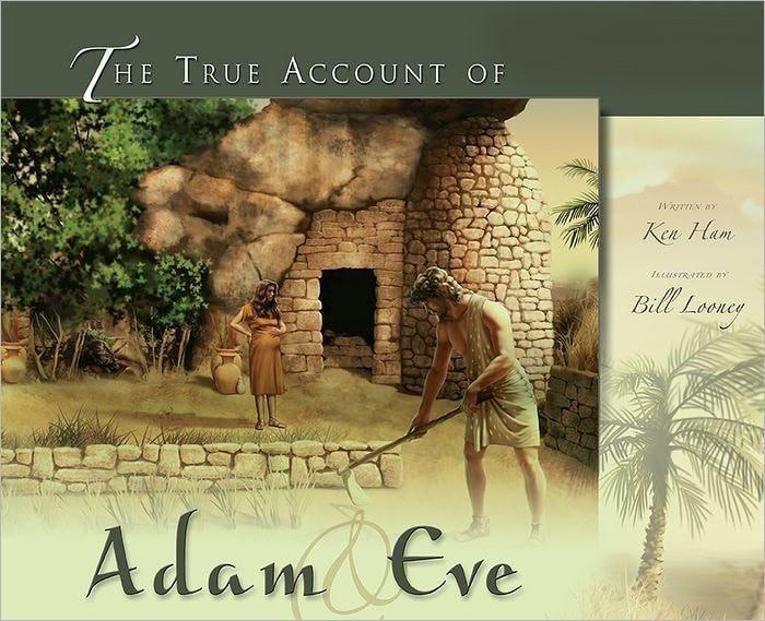 True Account Of Adam And Eve