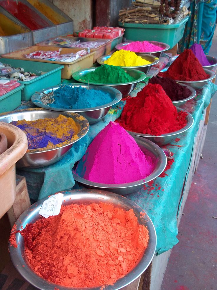 indian market - colour