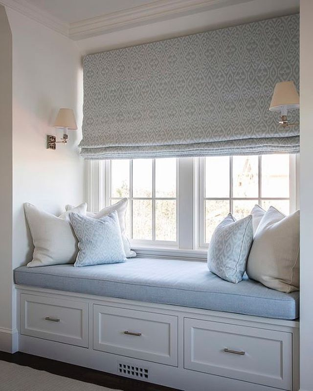 A bit of window seat inspiration. Image via @brady.design #windowseats