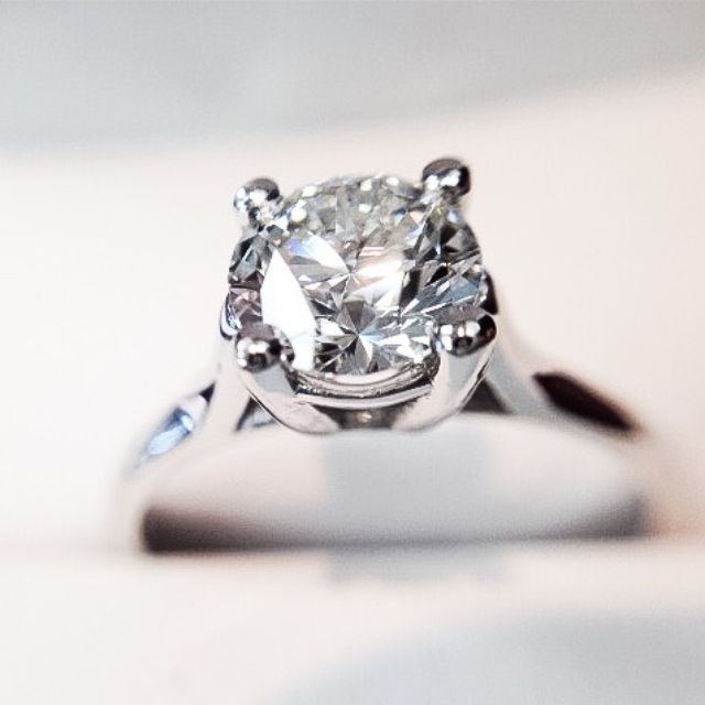 Classic Diamond Engagement ring. Come create your own!