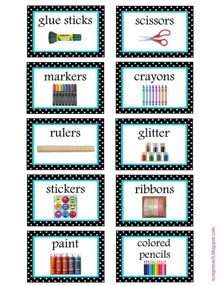 25+ Best Classroom Labels Ideas On Pinterest | Classroom Labels