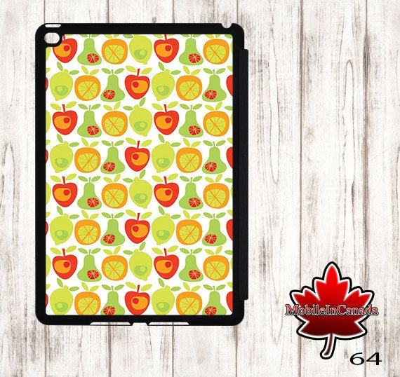 iPad cover Case stand smart leather flip ipad 2 3 4 air 1 2 3 mini 1 2 3 4 fruits by MobileInCanada on Etsy
