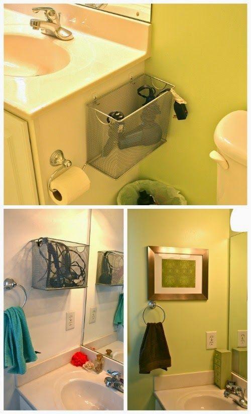 25 melhores ideias de cestas de lavanderia no pinterest for Bathroom storage ideas b q