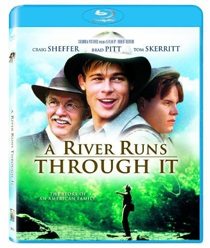 A River Runs Through It movies-you-should-seeBluray, Fly Fish, Book, Fave Film, Rivers T-Shirt, Brad Pitt, Craig Sheffer, Favorite Movie, Favorite Film