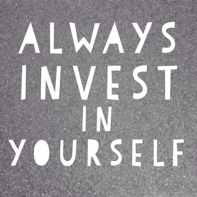 Pieniądze wydane na siebie to dobrze wydane pieniądze.  #rozwój #kariera