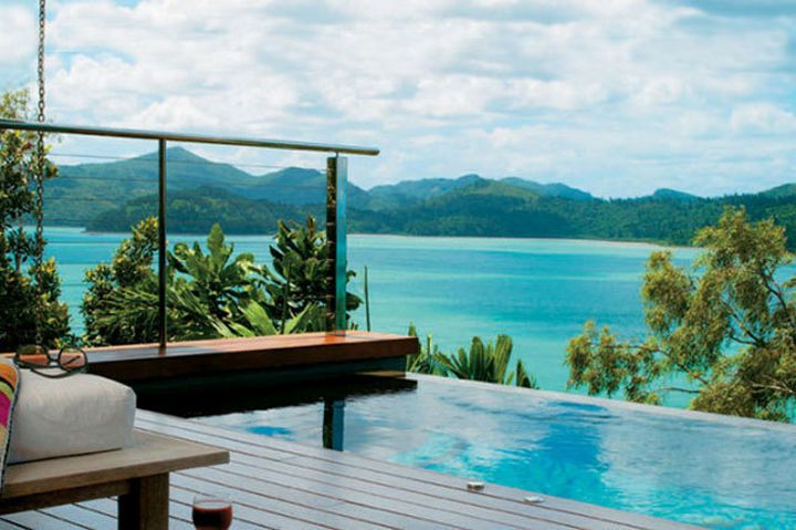 35 Epic Swimming Pools From Around the World - Qualia hotel on Hamilton Island.