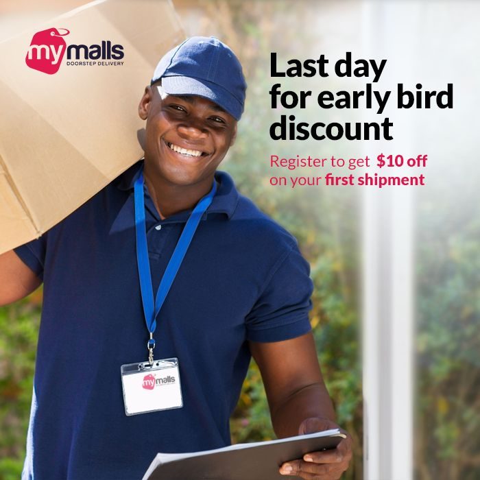 Last day for early bird discount. Register and use the voucher code: MMSAVE10 before August 31, 2015, and get $10 off on your first shipping.