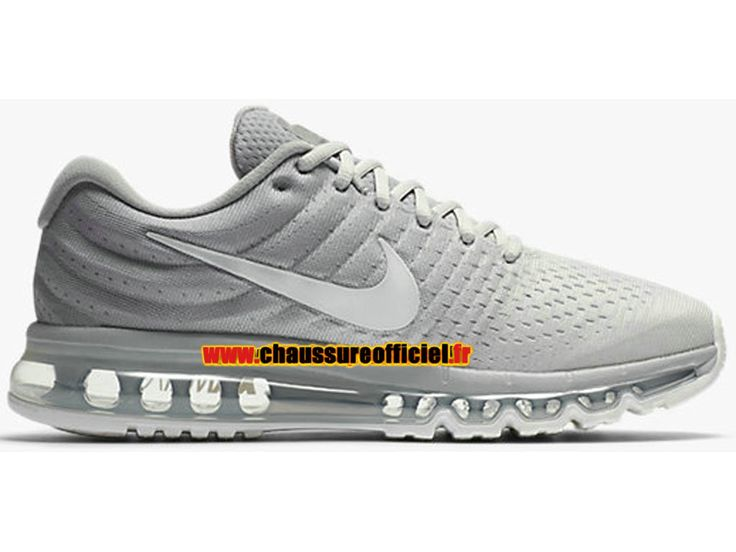 Nike Air Max 2017 Chaussures de Basketball Nike Pas Cher Pour Homme Gris 849559-005