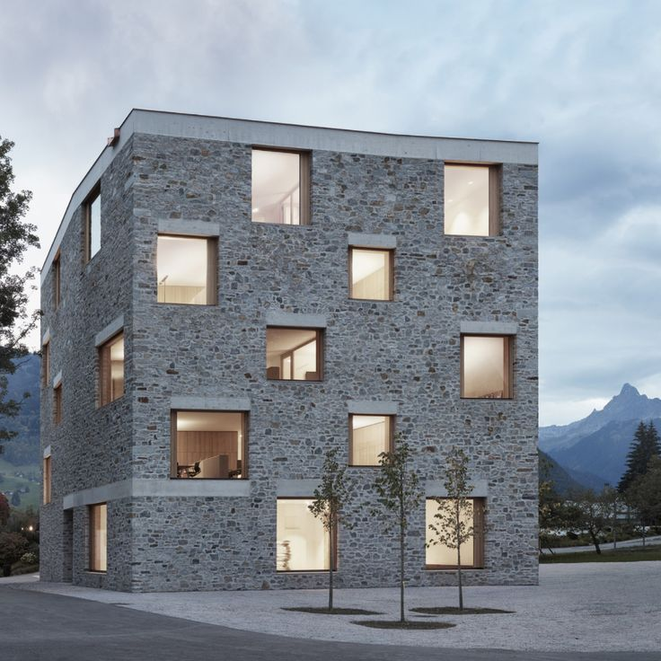 Alpin Sport, Schruns, Austria, by Bernardo Bader A…