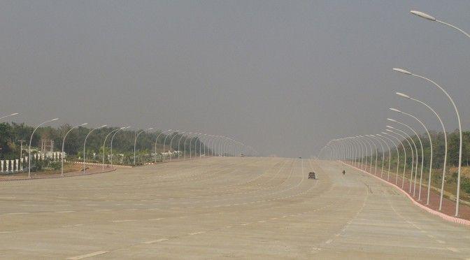 Birmanie – une capitale 6 fois plus grande que New York… Déserte