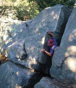 Purgatory Chasm is a great place for school-aged kids.