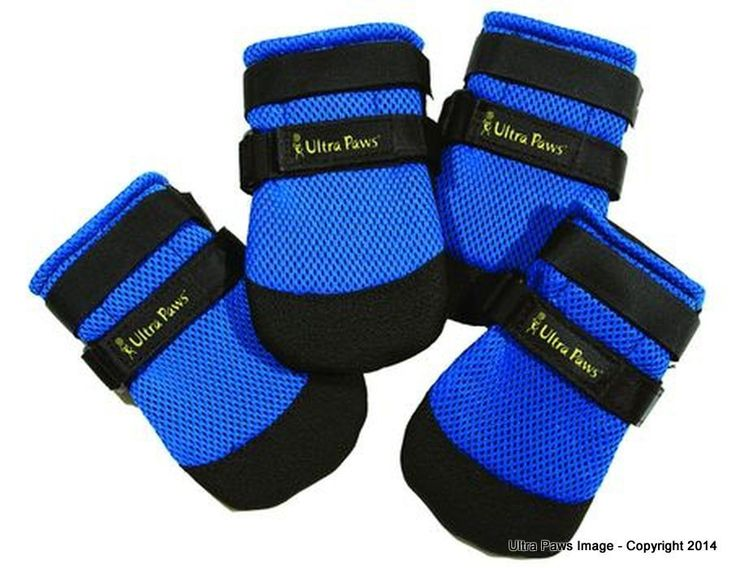 Ultra Paws Cool dog boots, set of four