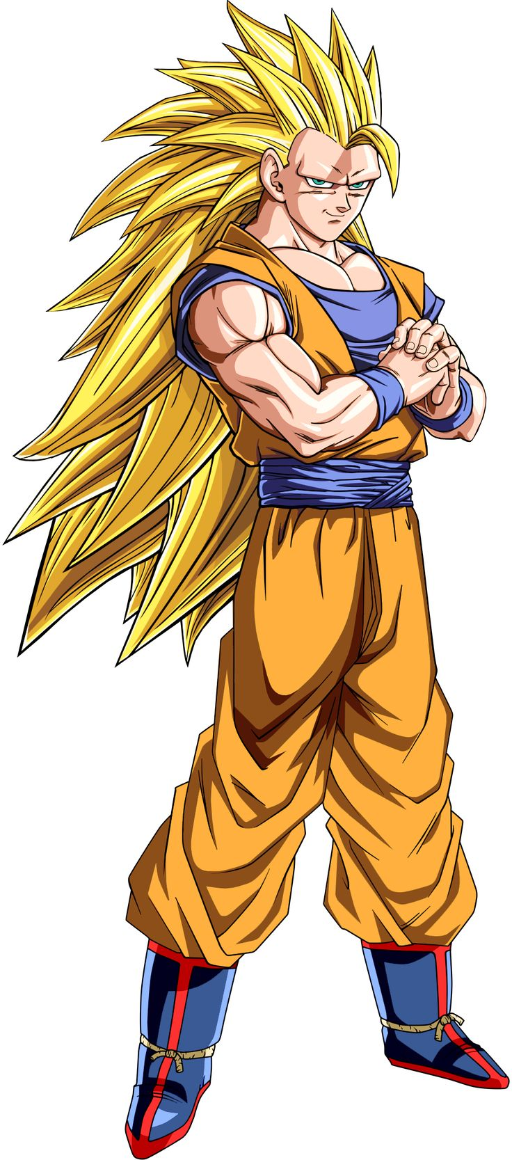 Goku Super Saiyajin fase 3 - DRAGÓN BALL Z