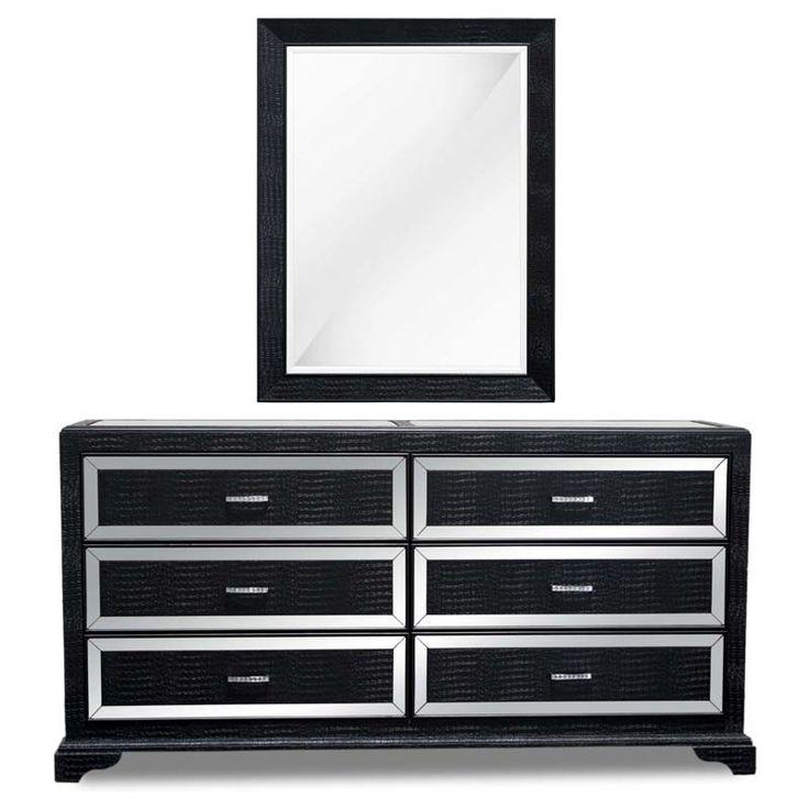 25+ beste ideeën over Dresser with mirror op Pinterest - Dressoir ...