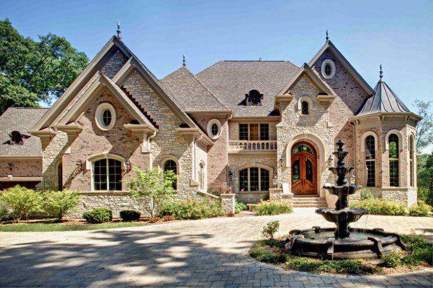 20 Beautiful Stone Exterior Design Ideas Limestone House House Exterior House Designs Exterior