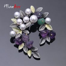 MloveAcc Colorful Natural Stone Rhinestone Bead Leaf Brooches Pins Vintage Style Big Women Brooch Wedding Accessories Jewelry     Tag a friend who would love this!     FREE Shipping Worldwide     Get it here ---> http://jxdiscount.com/mloveacc-colorful-natural-stone-rhinestone-bead-leaf-brooches-pins-vintage-style-big-women-brooch-wedding-accessories-jewelry/    #jxdiscount #discount #shop #online #fashion