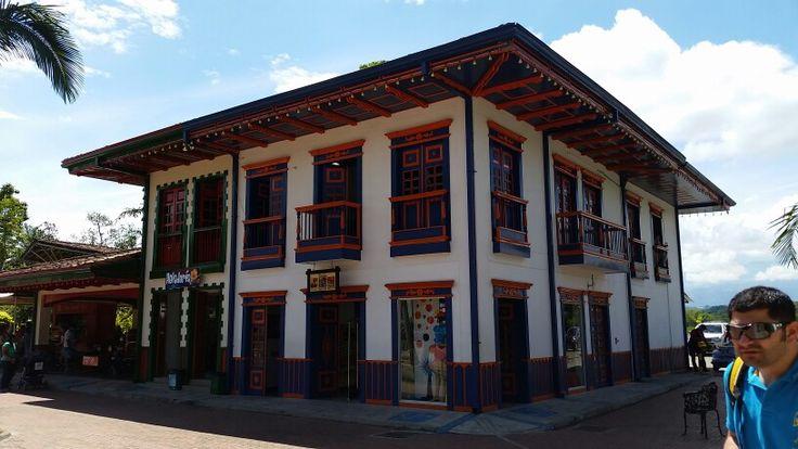 Parque del cafe quindio colombia