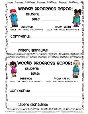 Las 25 mejores ideas sobre Behavior Report en Pinterest Manejo - sample student report