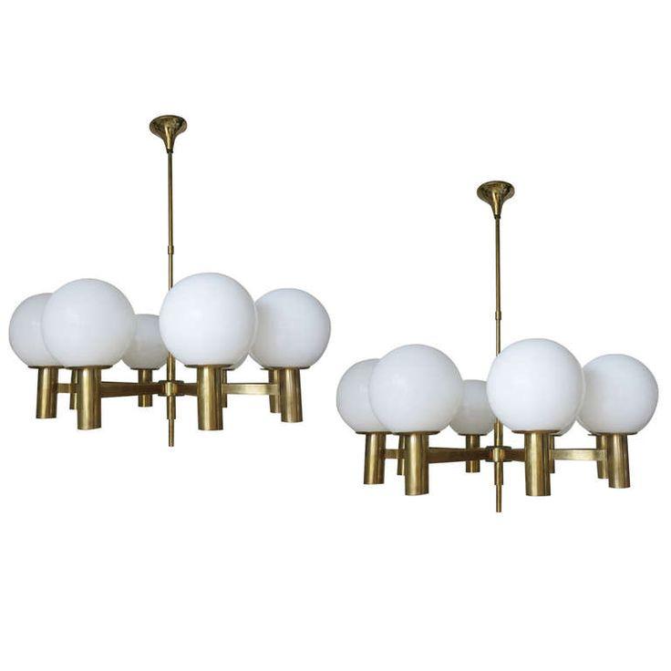 39 best chandeliers pendants images on pinterest chandelier great pair of sergio mazza chandeliers aloadofball Choice Image