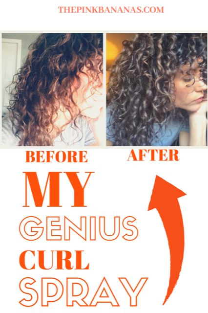A completely affordable curl activating spray. Perfect for waking up your sleepy curls. This is a must-have product!My Genius Curl Spray