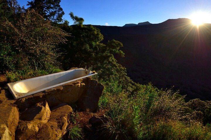 Hogsback, South Africa #outdoor bath