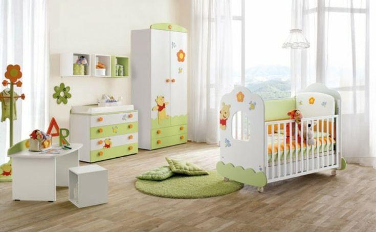 Babybett-Nestchen-grün-Teppich-Babyzimmer.jpg (750×462)