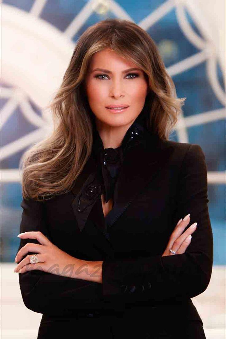 Primera imagen oficial de Melania Trump como Primera Dama