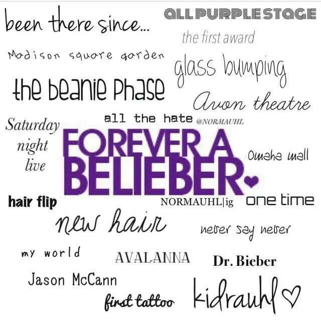 If youre a belieber you will understand. :)