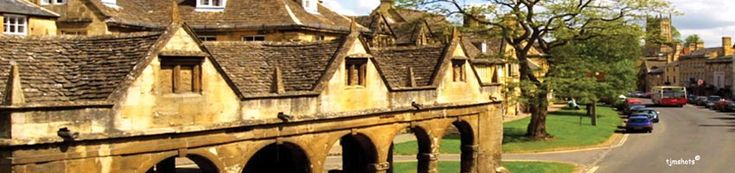 Old market hall in Chipping Campden is the official start of the Cotswold Way