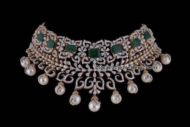 Diamond Sets by PSatyanarayana Jewellers