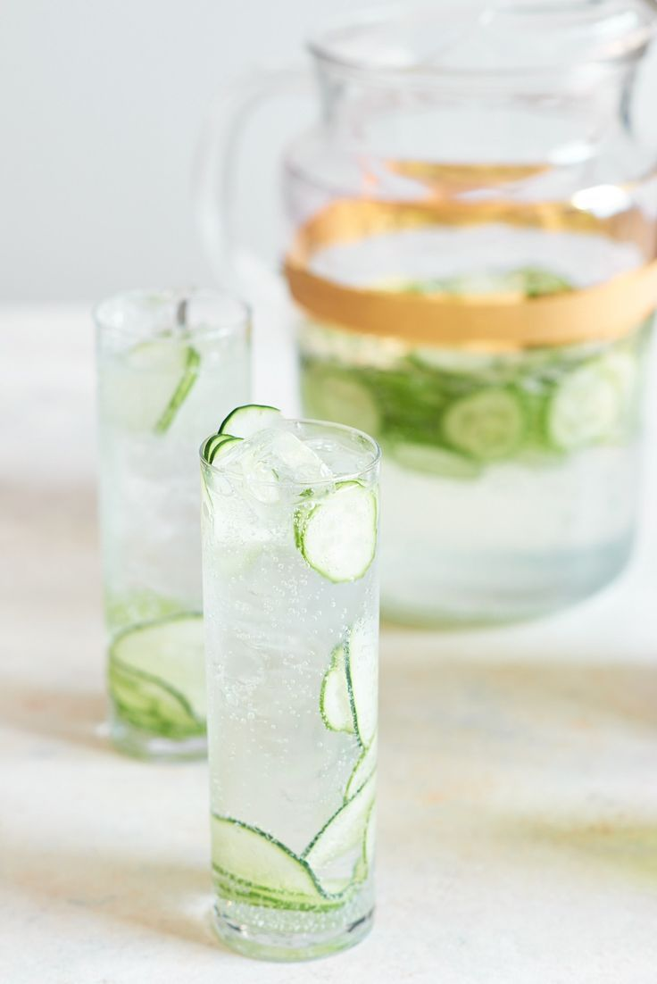 Recipe: Cucumber Gin & Tonic Pitcher Cocktail — Summer Pitcher Drinks
