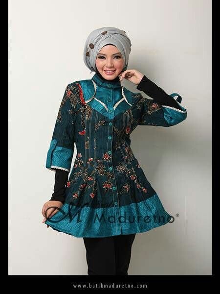 Batik tulis madura, office fashion from Batikmaduretno