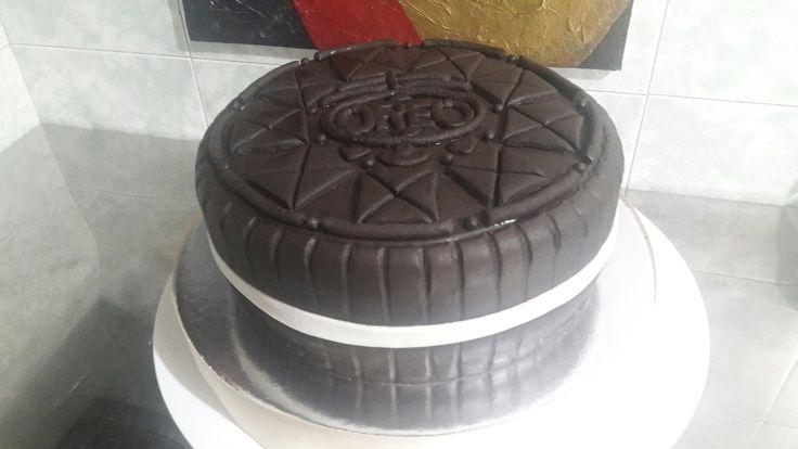 Torta Diseño Galleta Oreo!